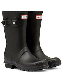 hunter-original-short-wellington-boots-black