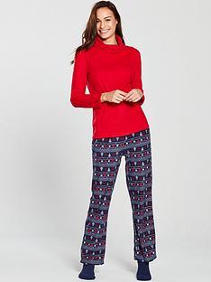 v-by-very-fleece-pyjamas-and-sock-gift-set-red-fairisle