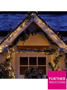 480-warm-white-multinbspfunction-indooroutdoor-christmas-cluster-lights-with-timer