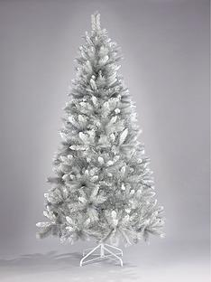 6ft-silver-grey-sparkle-christmas-tree-with-frosted-tips