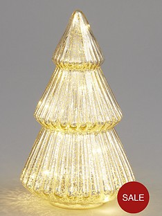 mercury-glass-lit-treenbspchristmas-decoration