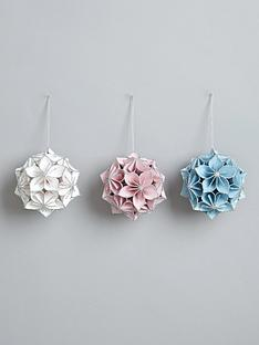 set-of-3-origami-paper-hanging-christmas-tree-decorations