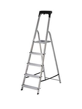 abru-5-tread-high-handrail-stepladder