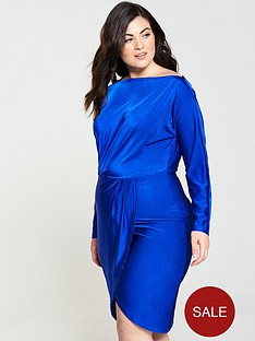 ax-paris-curve-slinky-off-shoulder-bodycon-midi-dress-cobalt-blue