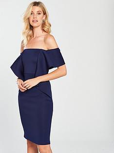 lavish-alice-off-the-shoulder-folded-midi-dress-navy