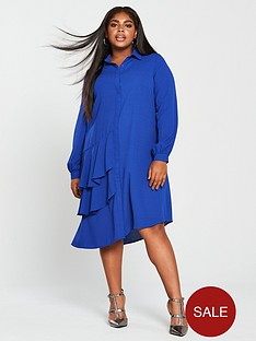 lost-ink-plus-shirt-dress-with-frills