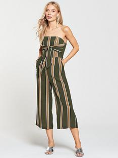 lavish-alice-bandeau-tie-front-tapered-jumpsuitnbsp--stripe