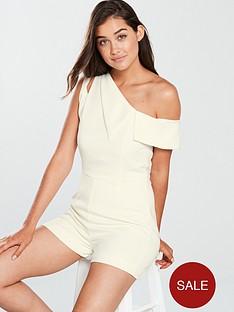 lavish-alice-one-shoulder-asymmetric-playsuit-white