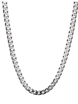 the-love-silver-collection-sterling-silver-2oz-solid-diamond-cut-18-inch-curb-chain
