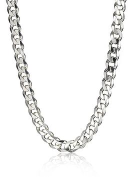 the-love-silver-collection-sterling-silver-3oz-solid-diamond-cut-20-inch-mens-curb-chain