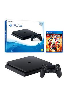 playstation-4-500gb-black-console-with-lego-the-incredibles-and-365-psn-subscription