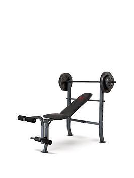 marcy-weight-bench-36kg-weight-set