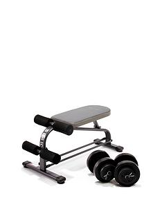 marcy-crunch-board-with-18kg-dumbbell-set