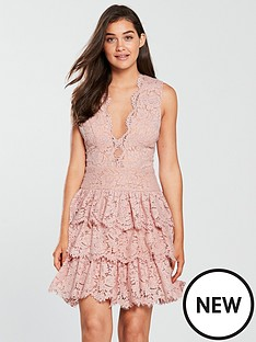 forever-unique-forver-unique-lace-frilled-skirt-skater-dress-dusty-pink