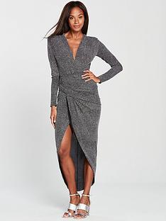 forever-unique-midi-wrap-dress