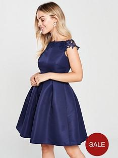 little-mistress-petite-little-mistress-petite-embroidered-top-bardot-high-low-dress