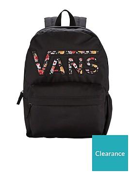 ed9ef4eb0f Vans Realm Flying V Backpack - Black