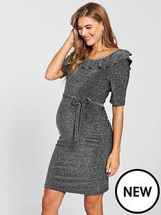 mama-licious-maternity-lanna-lurex-jersey-dress-with-tie-detailing-blacknbsp