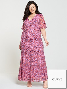 junarose-alyda-half-sleeve-printed-maxi-dress