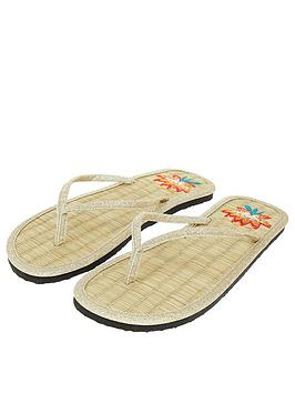 accessorize-lotus-embroidered-seagrass-flip-flop-gold