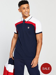 fila-white-line-spencer-slim-fit-polo