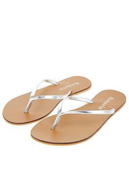 accessorize-lisa-flip-flop-silver