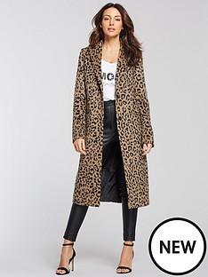 michelle-keegan-edge-to-edge-coat-leopard-print
