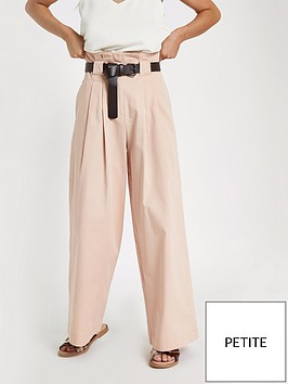 ri-petite-wide-paper-bag-waist-trousers-pink