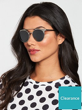 6dc6215369 Brow Bar Sunglasses - Silver