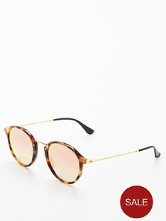ray-ban-rayban-round-light-tort-sunglasses