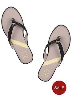 butterfly-twists-bondi-flip-flops-black