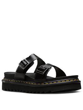 Clearance Outlet  Myles Martens Sandal Brando Flat Black Dr Pre Order Real Online Low Shipping Fee 27psPlzEu