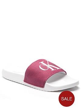 calvin-klein-chantal-felt-slide-sandal-red