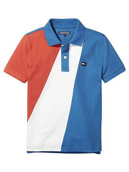 tommy-hilfiger-boys-colourblock-polo-multi