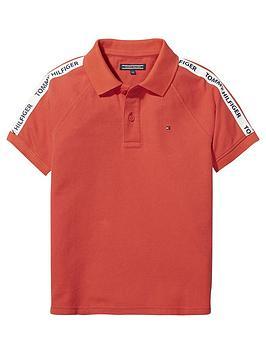 tommy-hilfiger-boys-short-sleeve-retro-polo-shirt-red