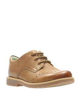 clarks-comet-heath-boys-infant-shoes-tan