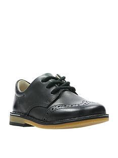 clarks-comet-heath-boys-first-shoes-black