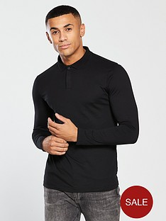 v-by-very-long-sleeved-jersey-polo