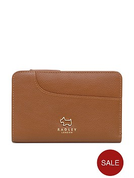 radley-pockets-medium-zip-top-purse-tan