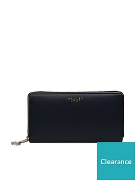 radley-arlington-street-large-zip-around-matinee-purse-ink