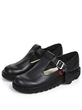 kickers-kick-lo-aztec-leathernbspflat-shoenbsp--black
