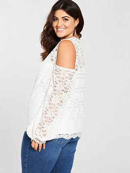 Outlet Prices Very Curve by Shoulder V Lace Cold Top 2018 For Sale High Quality Sale Online Sale 2018 New Sale How Much TKmOtDx