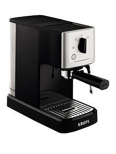krups-xp344040-calvi-manual-espresso-machine-black