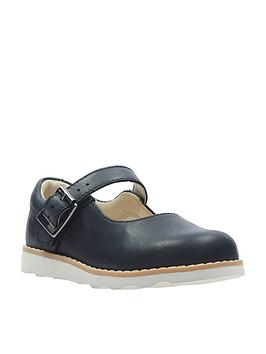 clarks-crown-honor-girls-first-shoes-navy