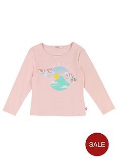 billieblush-girls-long-sleeve-bird-tokyo-print-t-shirt-pale-pink