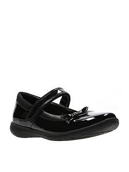 clarks-venture-star-patent-junior-shoes-black