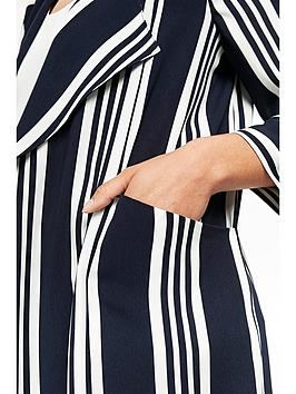 Jacket  White Waterfall Stripe Black Wallis Free Shipping Eastbay 7FNfs