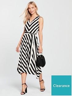 Wallis Stripe Hanky Hem Dress 694e4f096