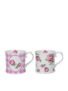 creative-tops-katie-alice-vintage-roses-tankard-mugs-set-of-2