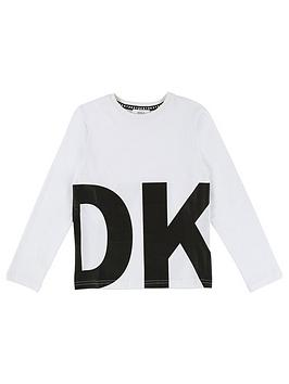 dkny-boys-long-sleeve-logo-t-shirt